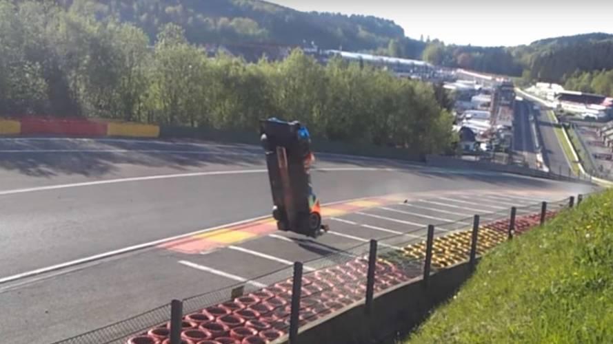 VIDEO - Un proto part en looping à Spa