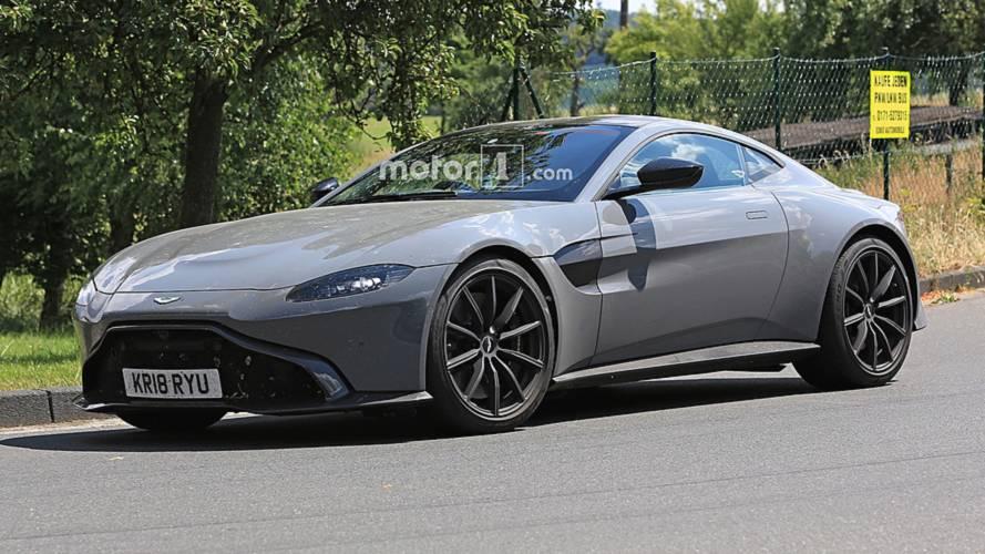 Aston Martin Vantage S Spy Photos