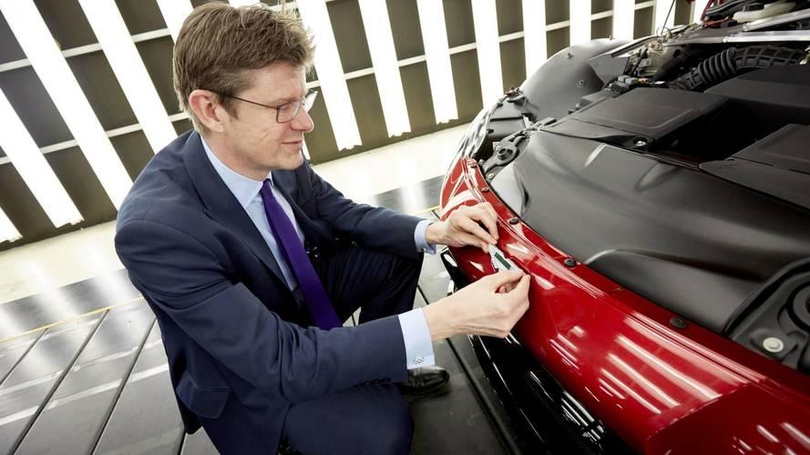 Production Aston Martin Vantage