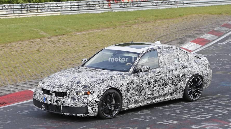 Yeni BMW M3 Sedan, Nürburgring'de görüntülendi