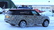 2018 Range Rover Plug-in Hybrid spy photo
