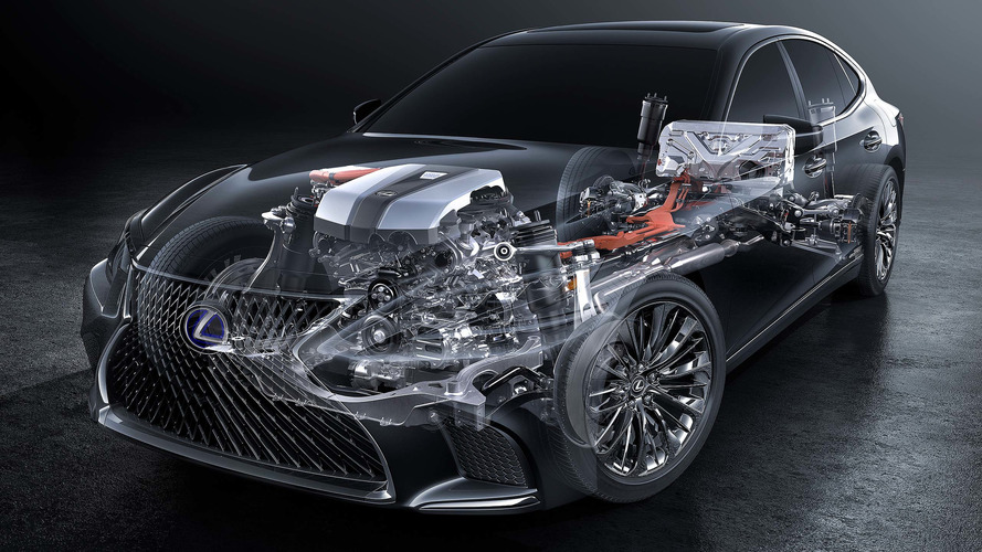 New Lexus Multi Stage Hybrid tech for latest LS