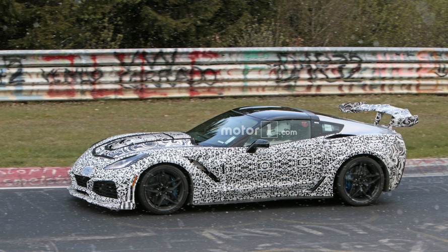 Watch The 2018 Corvette ZR1 Prototype Take On The Nurburgring