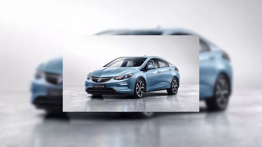 Buick Velite 5 Leaked Photo Confirms It's A Chevy Volt For China
