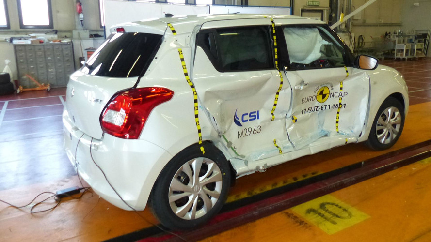 Crash-test Euro NCAP Suzuki Swift 2017