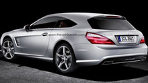 Mercedes SL-Class Shooting Brake 14.11.2013