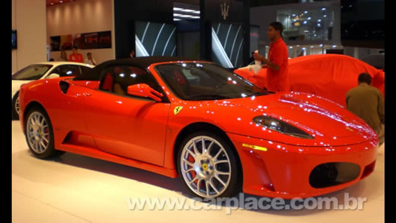 Destaques do Salão do Automóvel 2008 - Confira fotos das máquinas da Ferrari
