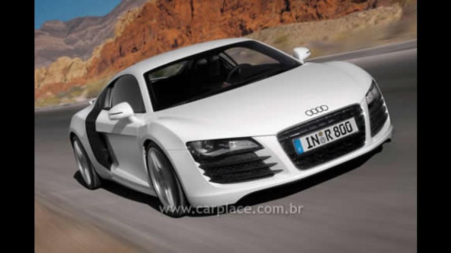 Audi R8 V12 TDI de 500 cavalos à diesel será apresentado no Salão de Detroit