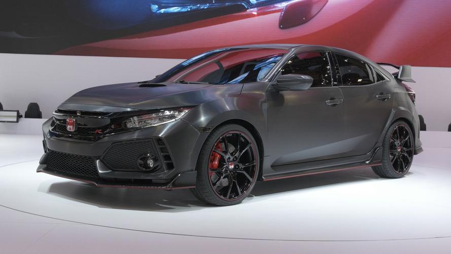 2017 Honda Civic Type R - Paris Otomobil Fuarı