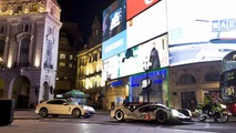 Mark Webber dans les rues de Londres en Porsche 919