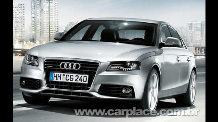 Novo Audi A4 com motor 2.0 FSI e Multritonic chega por R$ 148.780