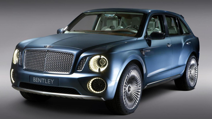 Entirely redesigned Bentley SUV to be called Falcon - report