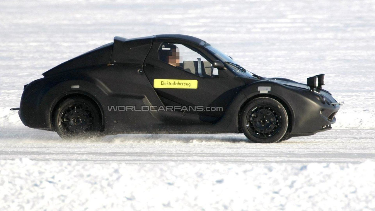 Mystery electric vehicle spied winter testing 12.03.2012