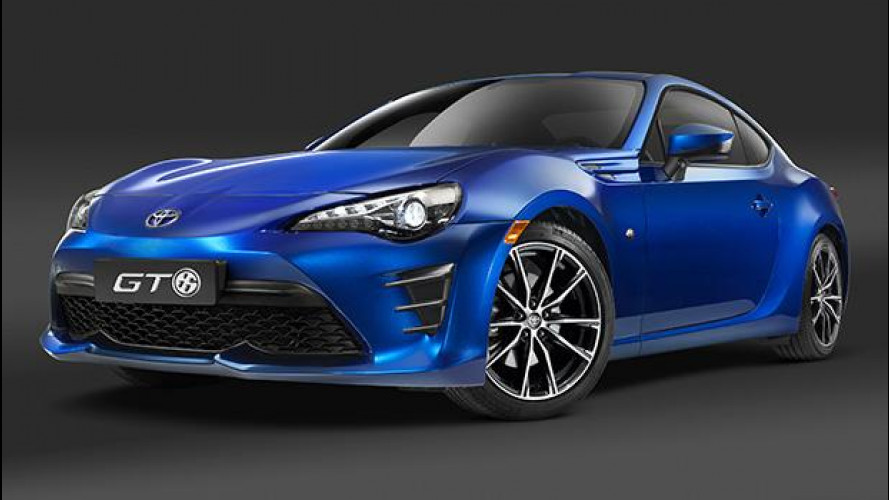 Toyota GT86, restyling al LED