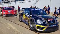 Volkswagen Andretti Rallycross Beetles