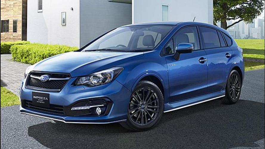 Subaru Impreza Sport Hybrid, solo per il Giappone