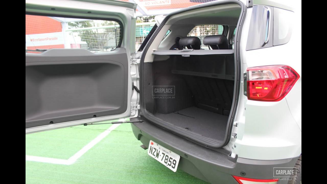 Conhecemos o Novo Ford EcoSport: Mais de 100 fotos HD do visual e acabamento interno