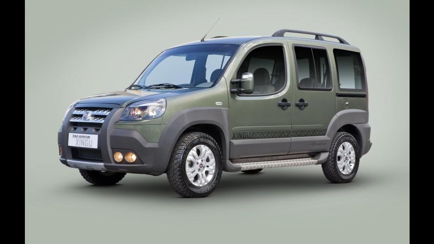 Fiat Doblò ganha série especial Adventure Xingu e novos equipamentos de série na linha 2013