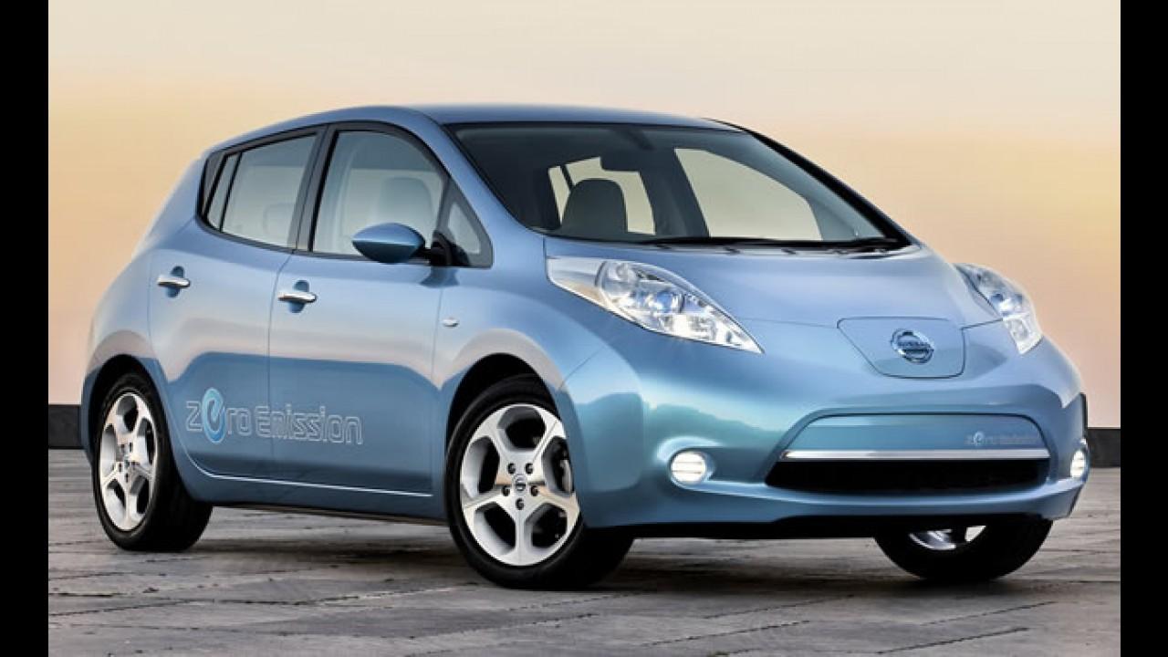 Prefeitura de SP e Renault-Nissan assinam parceria para utilização de carros elétricos