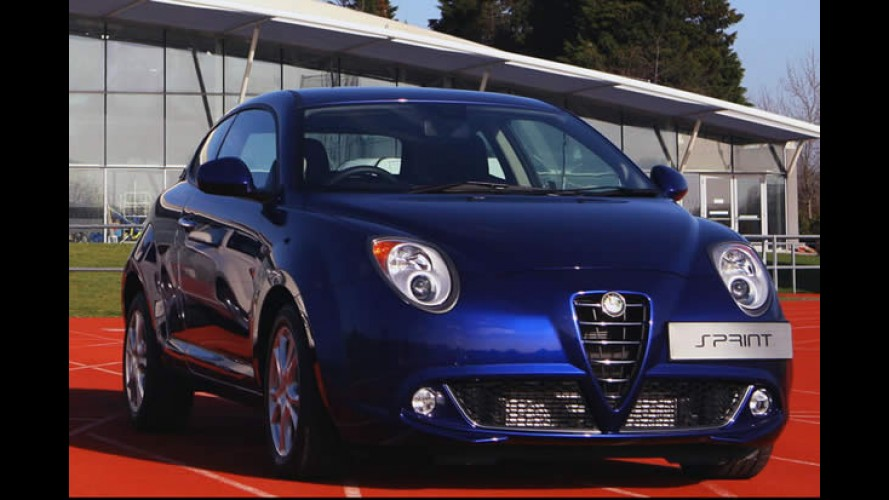Alfa Romeo lançará série Sprint do MiTo apenas para britânicos