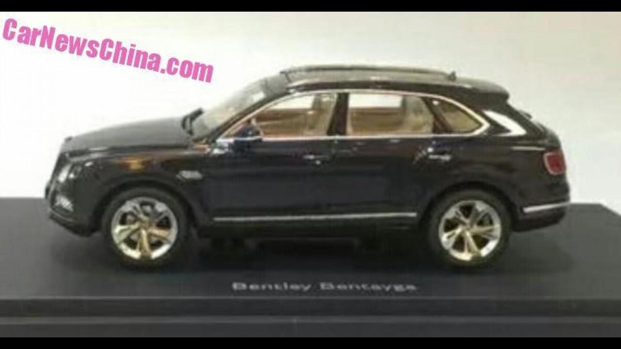 """""""Segredinho"""": miniatura revela versão final do SUV Bentley Bentayga"""