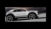 Audi divulga teaser e confirma crossover compacto Q1 para 2016