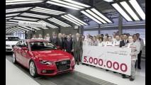 Audi A4: 5 milhões de unidades produzidas