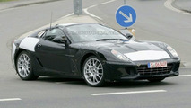 Ferrari Dino 599 Test Mule Spy Photos