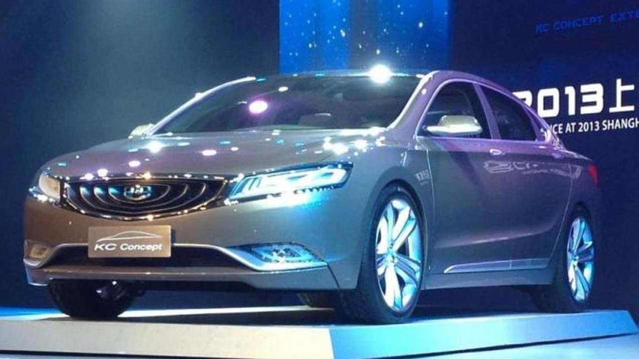 2013 Geely KC Concept
