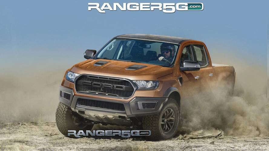 Ford Ranger Raptor Looks Ready To Get Dirty In Speculative Render