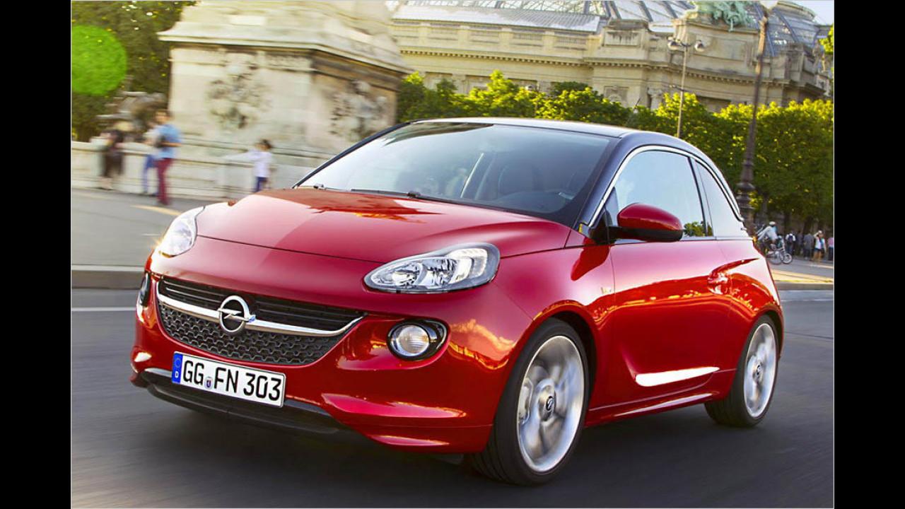 Der beste Kleinstwagen: Opel Adam