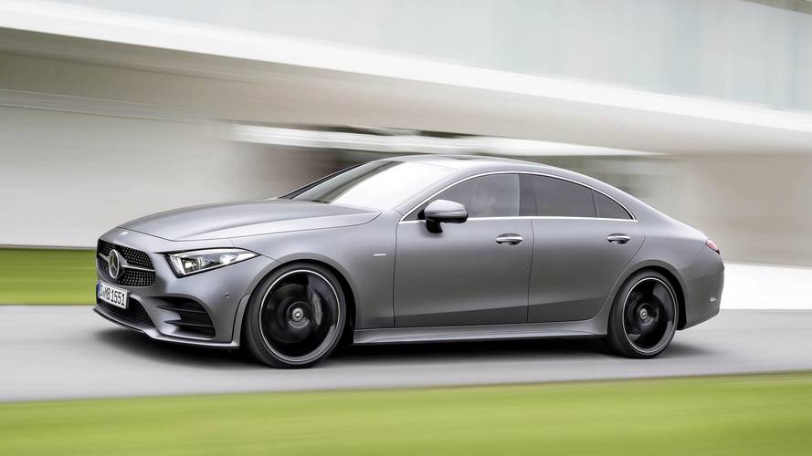Az új Mercedes-Benz CLS-osztály