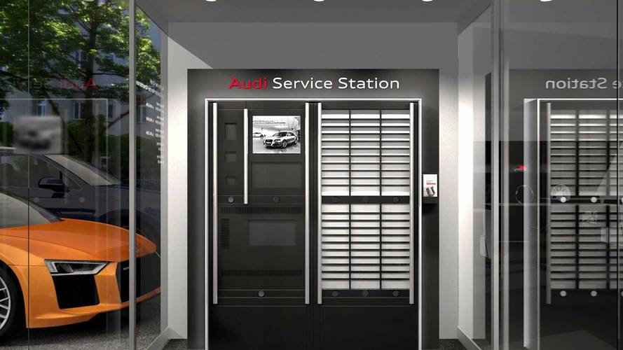 Audi Dijital İstasyonları 7/24 bayi servisi sunuyor