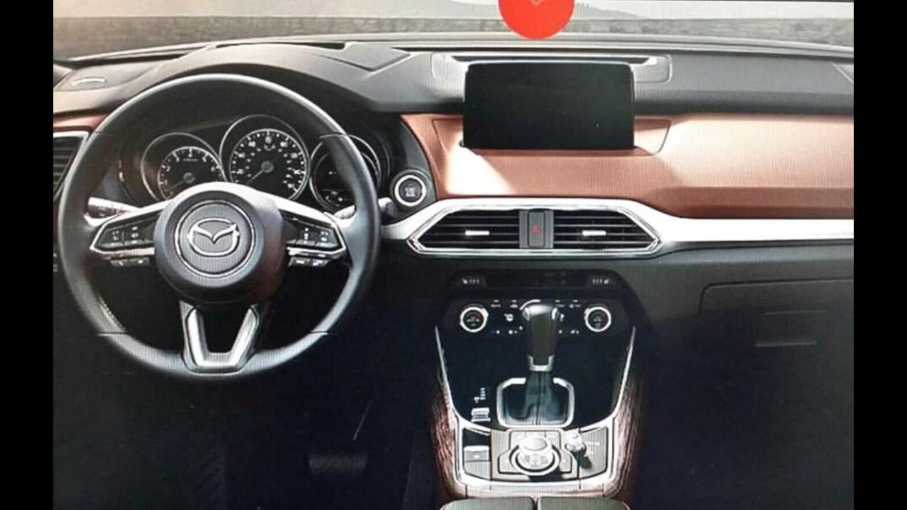 Vazou: novo Mazda CX-9 aparece antes da estreia em Los Angeles