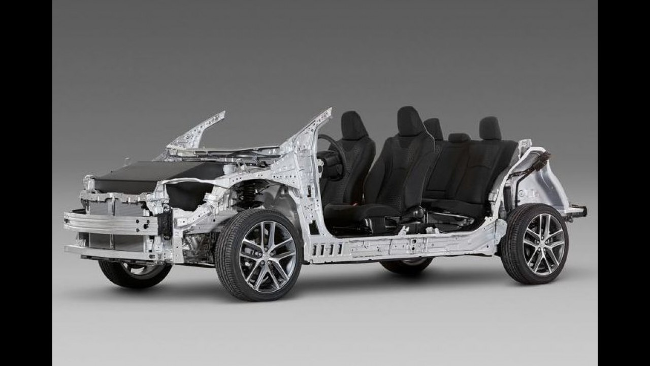 Toyota estreia inédita plataforma TNGA com novo modelo no fim do ano
