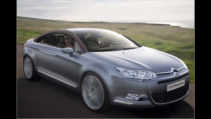 Großes Traum-Cabrio: Citroën C5 Airscape öffnet zur IAA