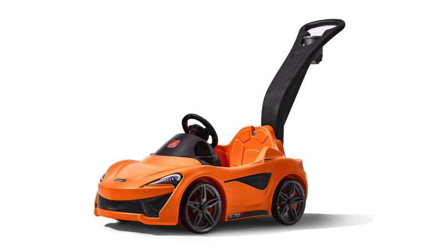 McLaren Made A 570S Push Car For The Coolest Kids On The Block