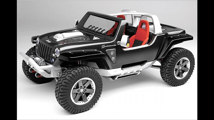 Jeep Hurrikane: Das ist die perfekte Wende