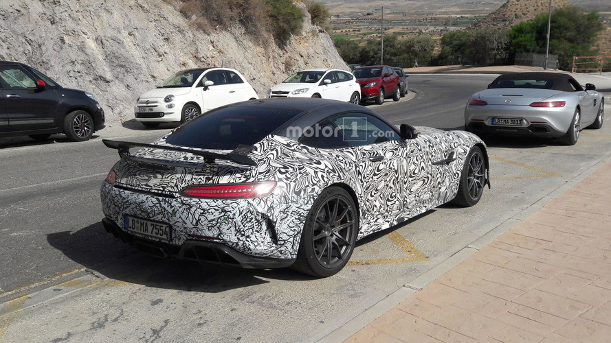 Mercedes-AMG GT R Black Series Caught By Motor1 Reader In Spain
