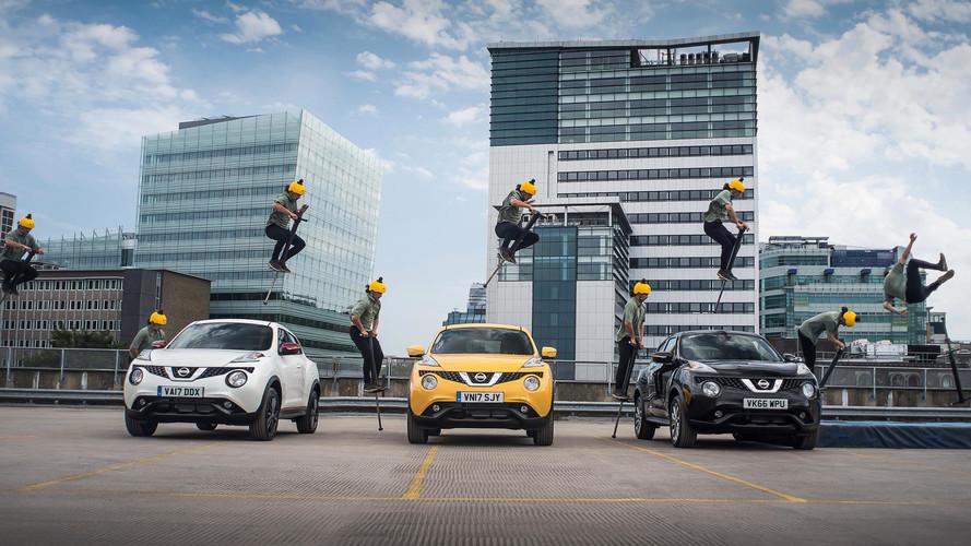 Nissan Juke Gets 360-degree Dashcam
