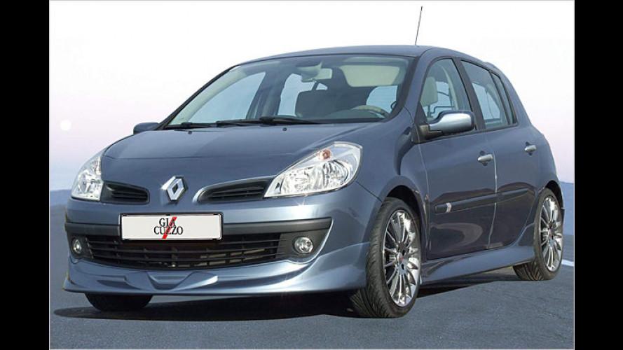 Sehr sportlich verfeinert: Renault Clio von Giacuzzo Design