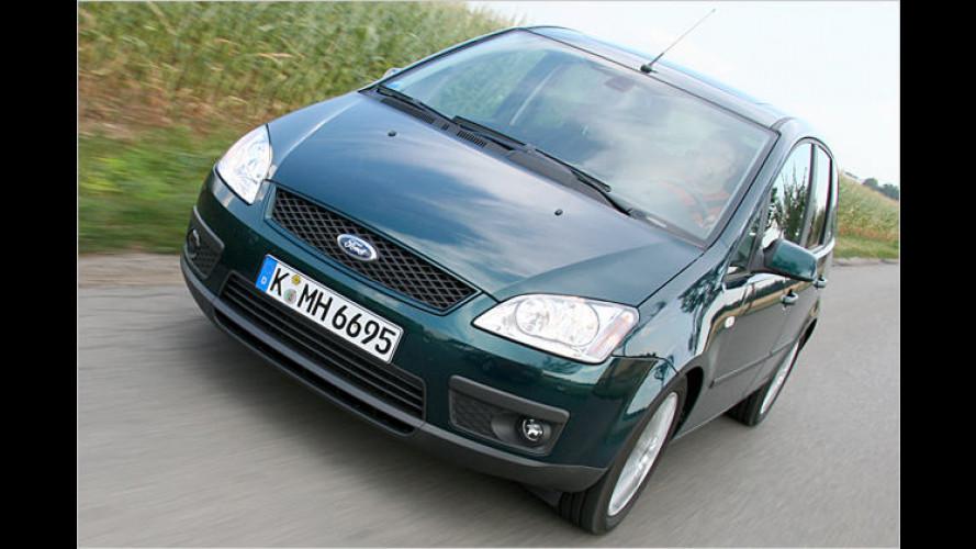Stufenlos mit sieben Gängen: Ford Focus C-Max 1.8 mit CVT