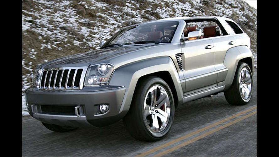 Adlerauge sei wachsam: Jeep Trailhawk auf Wrangler-Basis