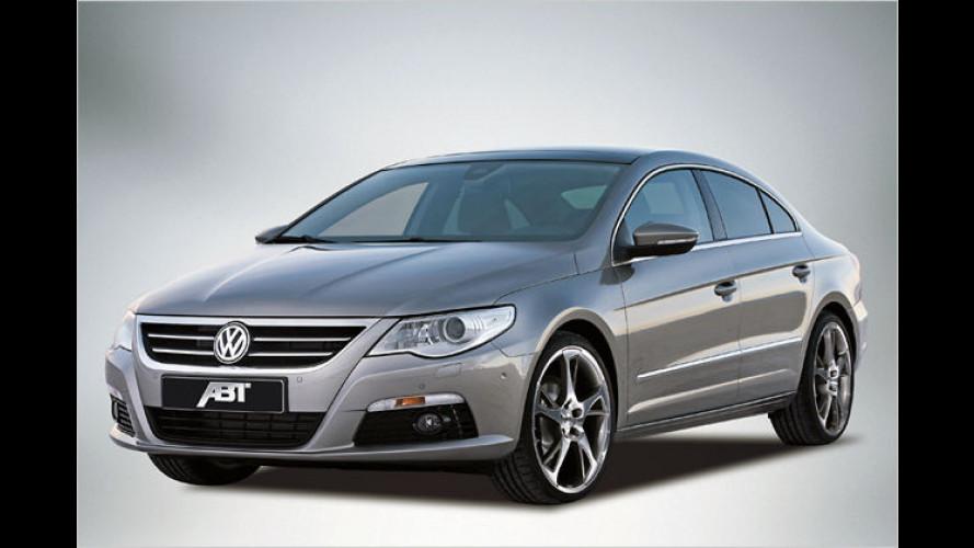Kraftvoller Gleiter: Abt veredelt den neuen VW Passat CC