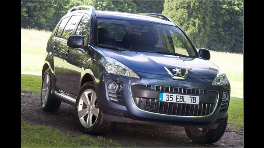 Peugeot 4007 ab sofort mit neuer Einstiegsvariante Tendance