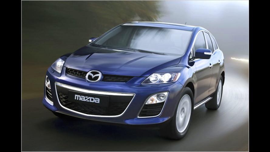 Besonders sauber: Mazda CX-7 mit AdBlue-Abgasreinigung