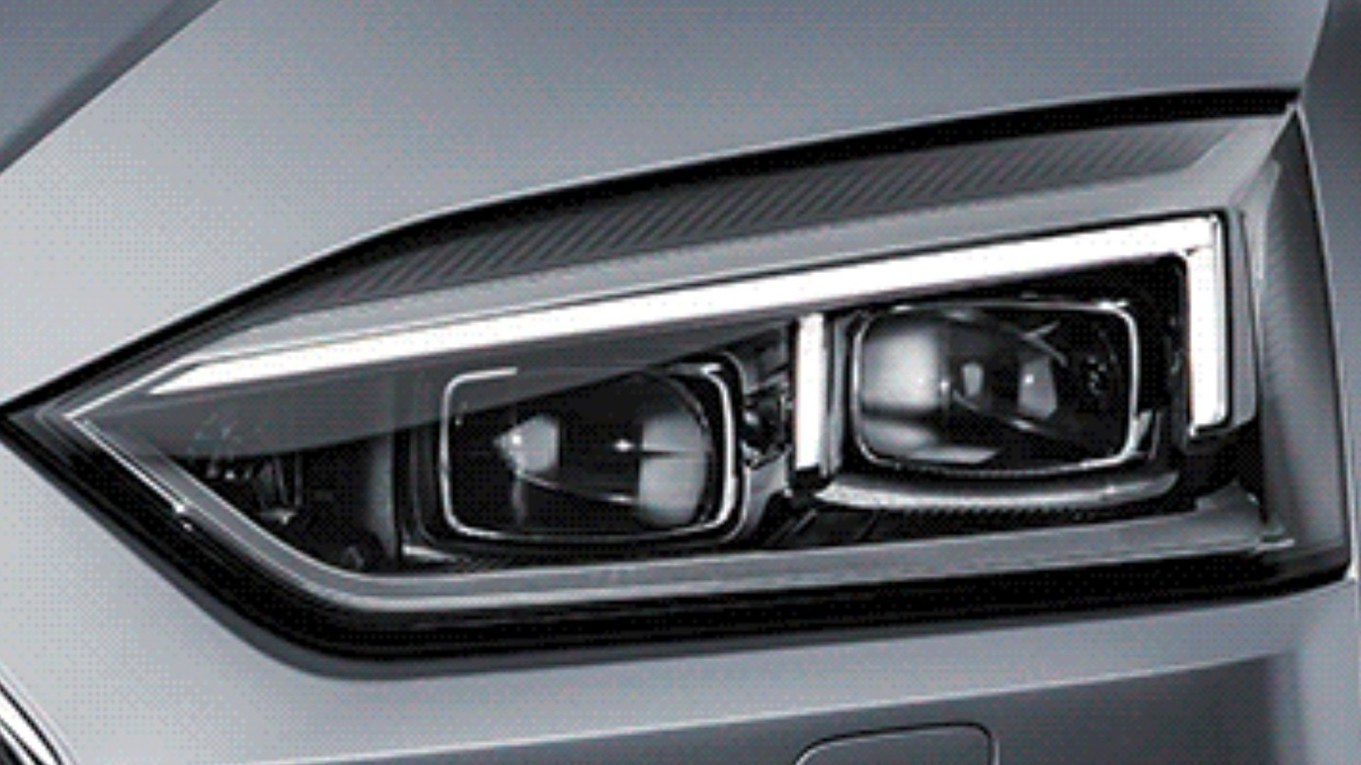 2017 Audi A5 Coupe Headlights Revealed