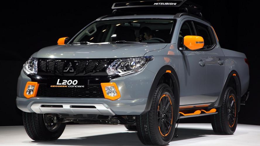 Mitsubishi L200, ASX GEOSEEK concepts show new livery in Geneva