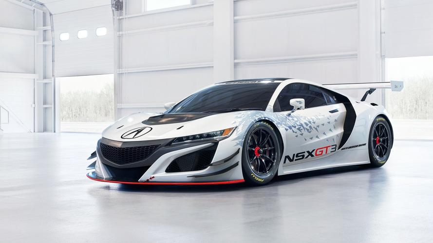 Acura dévoile la NSX GT3