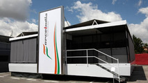 Force India hospitality motorhome, Spanish Grand Prix, 06.05.2010 Barcelona, Spain